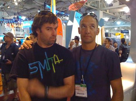 Smith Optics Marketing Director Tag Kleiner and Public Relations Director Greg Randolph