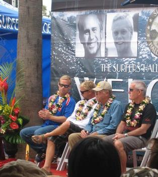 The 2009 Surfer's Hall of Fame inductees