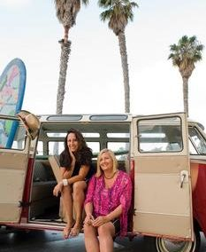 Coco and Izzy Tihanyi of Surf Diva. Courtesy of Surf Diva