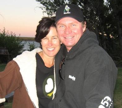 Katin CEO Robert Schmidt and his wife
