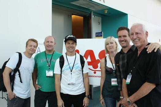 Some IASC board members and staff at ASR in September