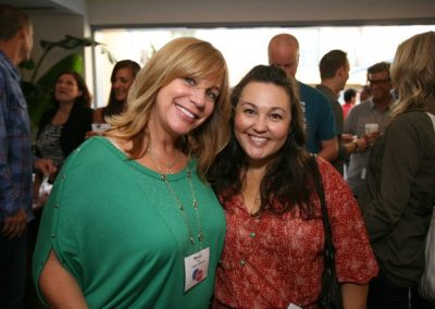 L*Space Founder Monica Wise and National Sales Manager Debby Martin.