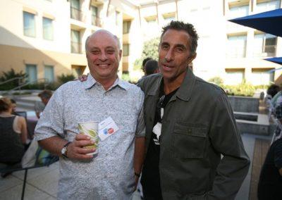 Bryan Friedman of Friedman Stroffe Gerard with Firewire CEO Mark Price.