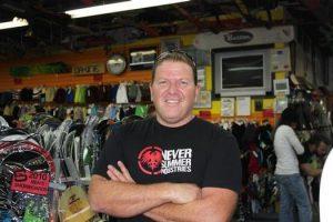 Salty Peaks owner Dennis Nazari