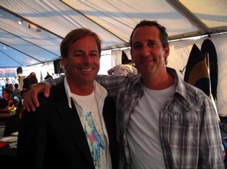 Bob Hurley founder of Hurley International with Steve Zeldin.
