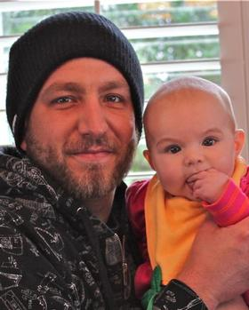 Val Surf's Brandon Richards and daughter