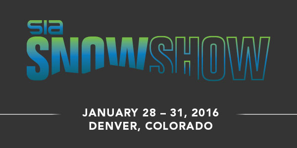 Register Now for the SIA Snow Show, January 28-31, 2016