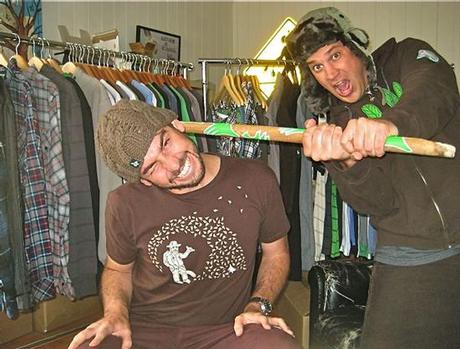 HippyTree partners Josh Sweeney and Andrew Sarnecki. They have lived and worked together in a small apartment for several years so this may be real.