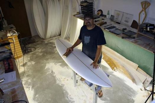 Dennis Jarvis of Spyder Surf in Hermosa Beach
