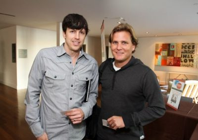 Skullcandy President Jeremy Andrus and Aaron Behle
