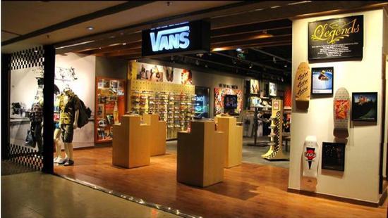 Vans opens flagship store in