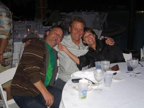 Mark Richards (center) of Val Surf and wife