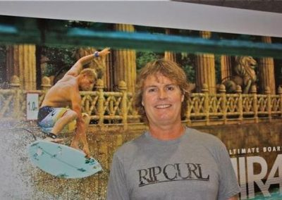 Rip Curl USA CEO Kelly Gibson.