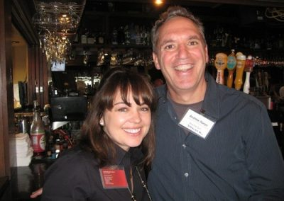 Jacqueline Roth of Bolton & Co. and Andrew Horan of Shop-eat-surf.