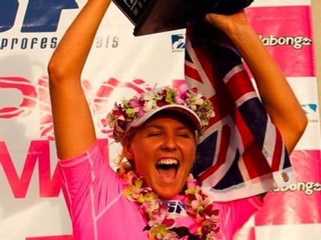 Rip Curl-sponsored surfer Stephanie Gilmore