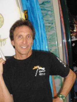Kim Ball of Hi-Tech Surf Sports in Maui.