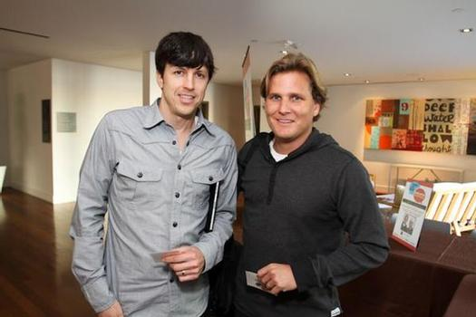 Skullcandy CEO Jeremy Andrus and Aaron Behle