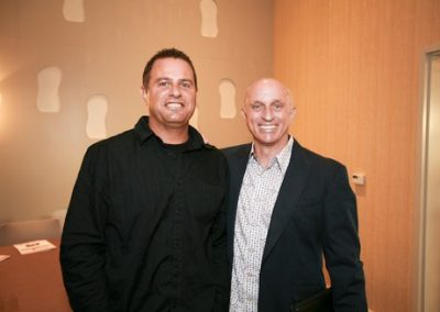 Together again: Bob Graff of Graffy Inc and Bob Mignogna of Mignogna Consulting