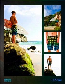 Rusty's Global Cooling boardshorts