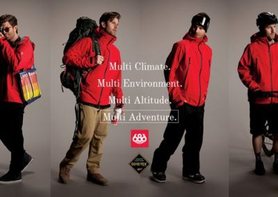 686 is expanding its technical knowledge to products beyond snowboarding