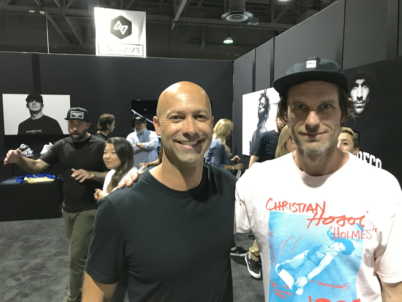 DC Global GM Mike Jensen and DC Co-Founder Damon Way