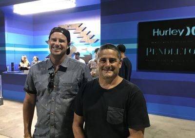 Ryan Mangan and Mark Simpson of Hurley