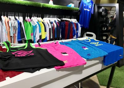Umbro Sales Rep Brandon Zoldos said that soccer style has gained popularity in the skate industry
