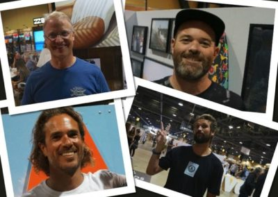 Clockwise from top left: Neil Fiske, Ryan Hitzel, Shaun Neff, Jason McCaffrey - Photos by SES