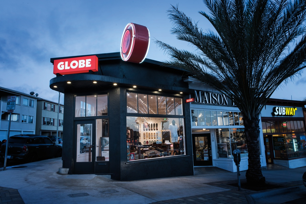 The new Globe store is in the heart of Hermosa Beach