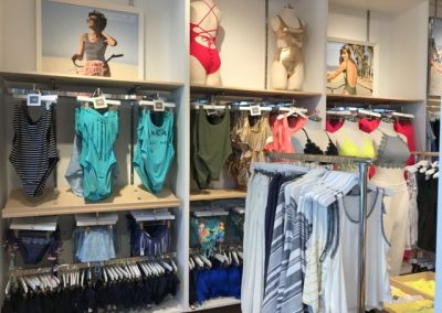 A small piece of the very large swim collection at Aerie