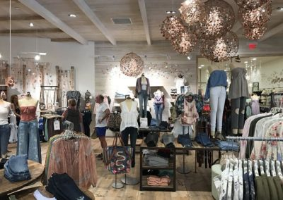 The Free People store at the revamped International Marketplace in Waikiki