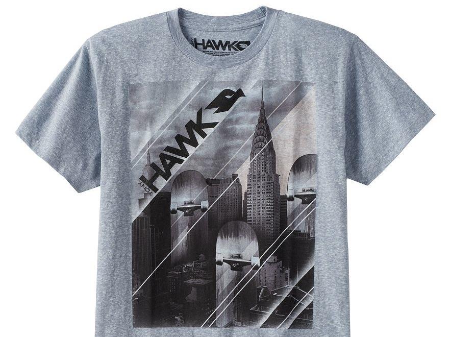 A Tony Hawk T-shirt at Kohl's - Photo courtesy of Kohl's