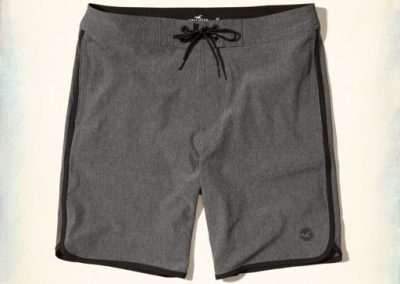 Hollister stretch boardshorts are $39