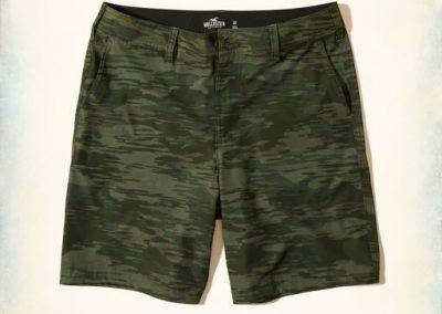 Hollister hybrid shorts are $25