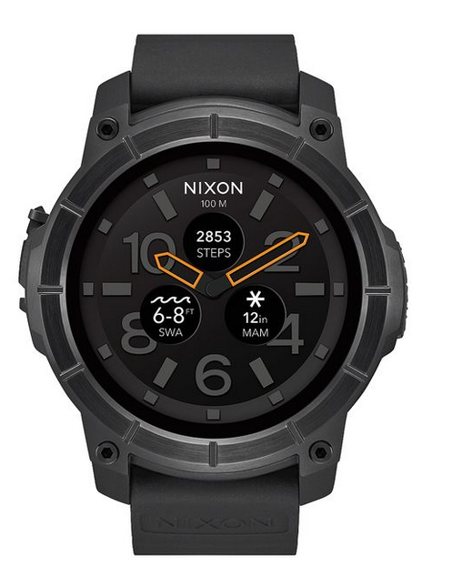 The Mission smartwatch