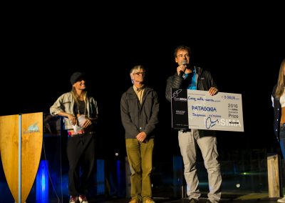 Patagonia won the 2016 EuroSIMA Innovation Prize and donated the 5000 euro prize to Surfers against Sewage
