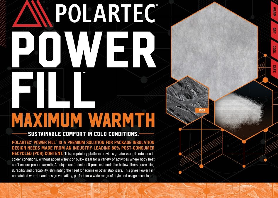 Polartec Introduces PolartecPower Fill