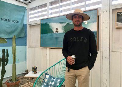 Poler surf ambassador Trevor Gordon