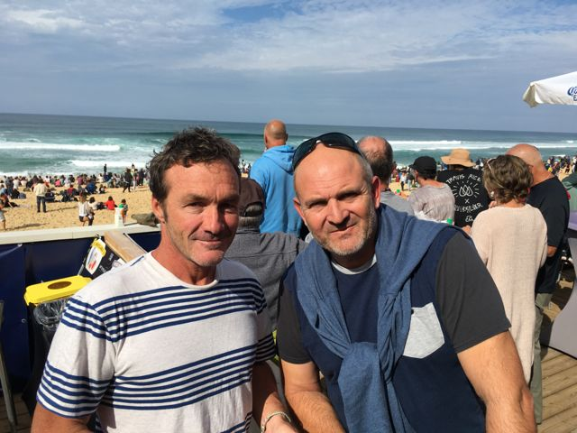 Quiksilver CEO Pierre Agnes and Philippe Arbelbide