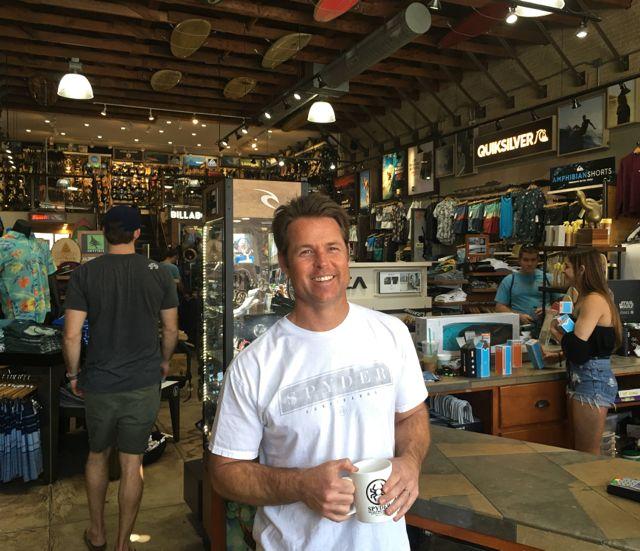 Spyder Surf Partner Richard O'Reilly - Photo by SES