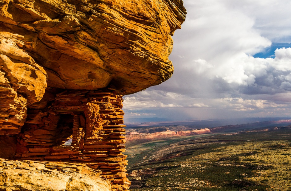 Bears Ears National Monument photo displayed on Arc'teryx site. Photo credit: Josh Ewing courtesy of the Conservation Alliance