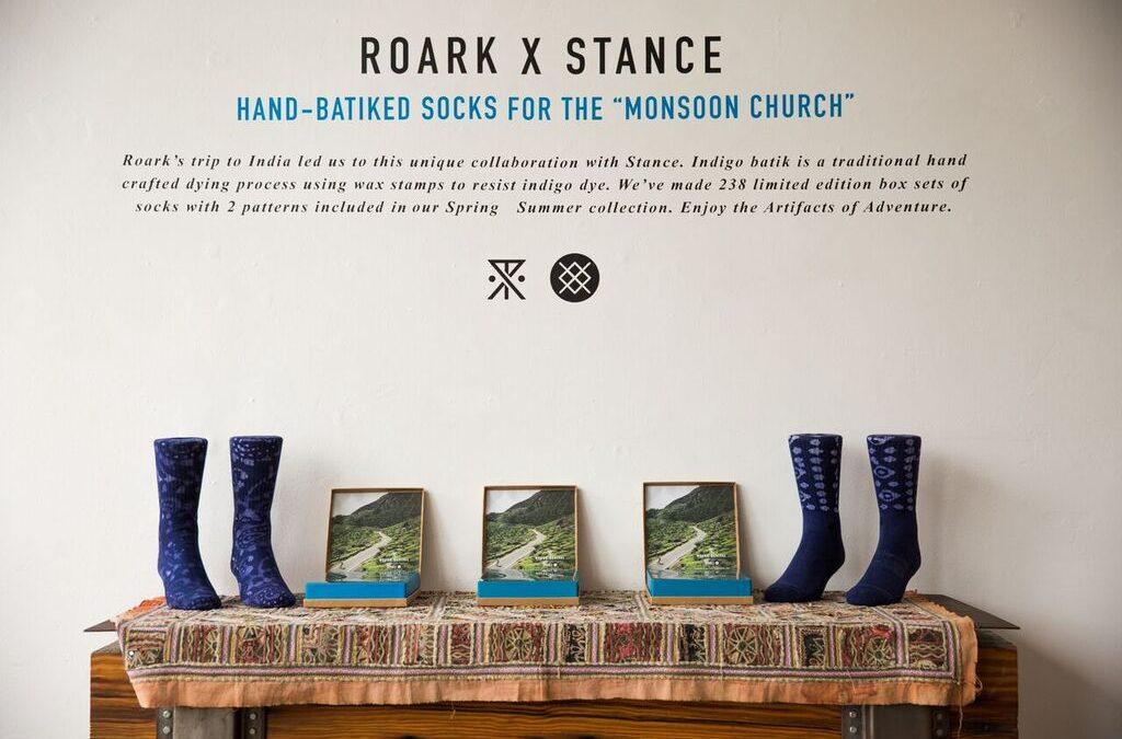 Roark Teams Up withStance