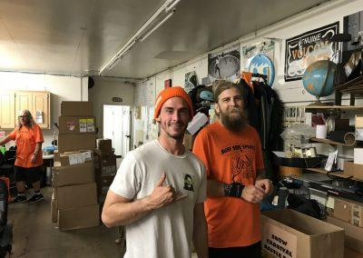 Billy Keller and Surfside's David Edukas