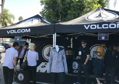 Volcom had a big presence at the Surfside carnival