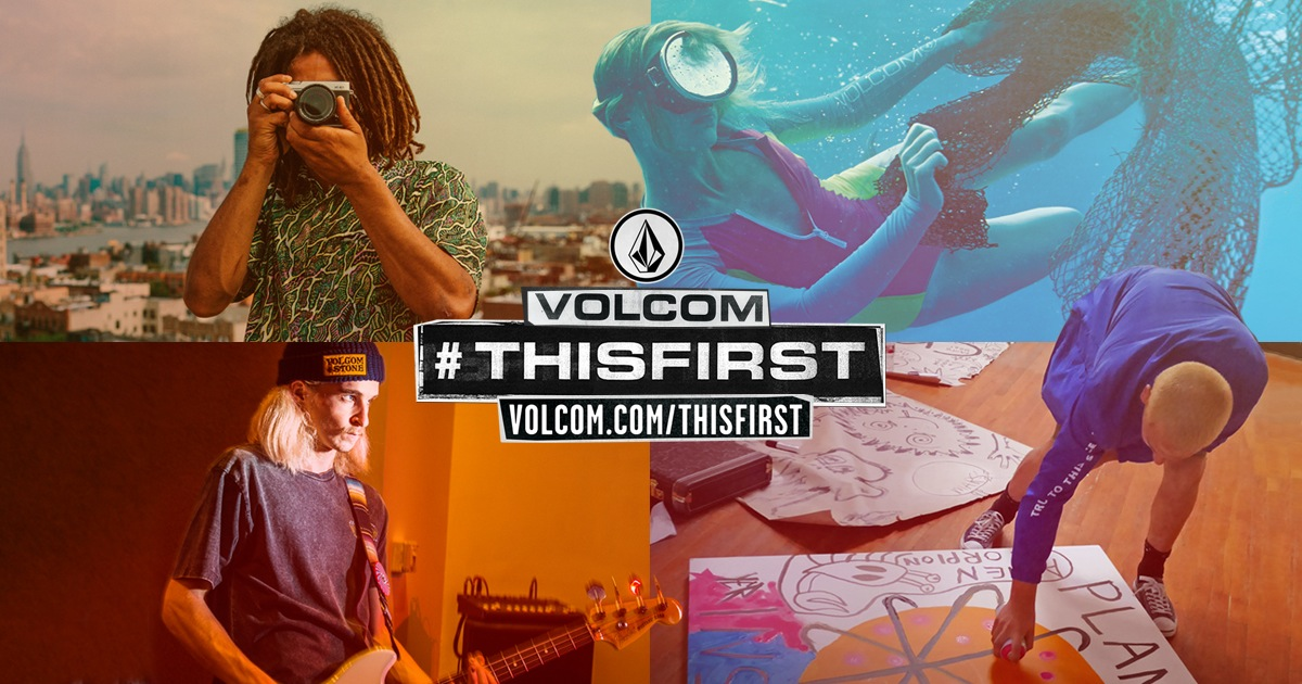 Campaign imagery courtesy of Volcom