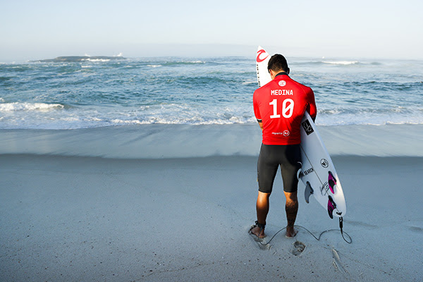 2014 WSL Champion Gabriel Medina (BRA) is passionate about the opportunity to represent his country in the Olympic Games. Credit: Ω WSL / Poullenot
