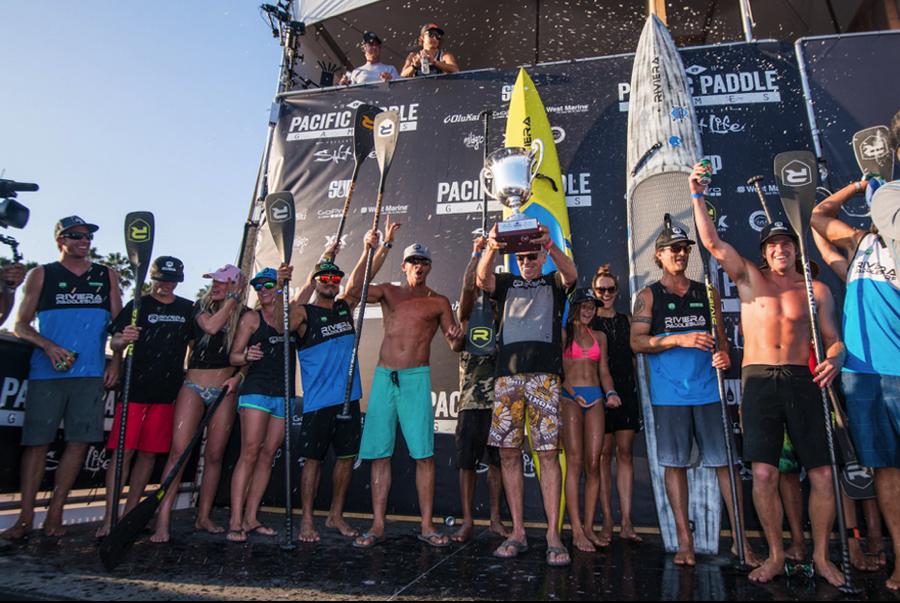 2015 Manufactureräó»s Team Challenge Champions Riviera Paddlesurf. Photo: Lorenzo Menendez