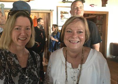 Heather Lewis and Debbie Harvey of Ron Jon