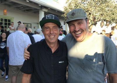 Milo Myers of Hanger 94 and Lance Eddy of Vans