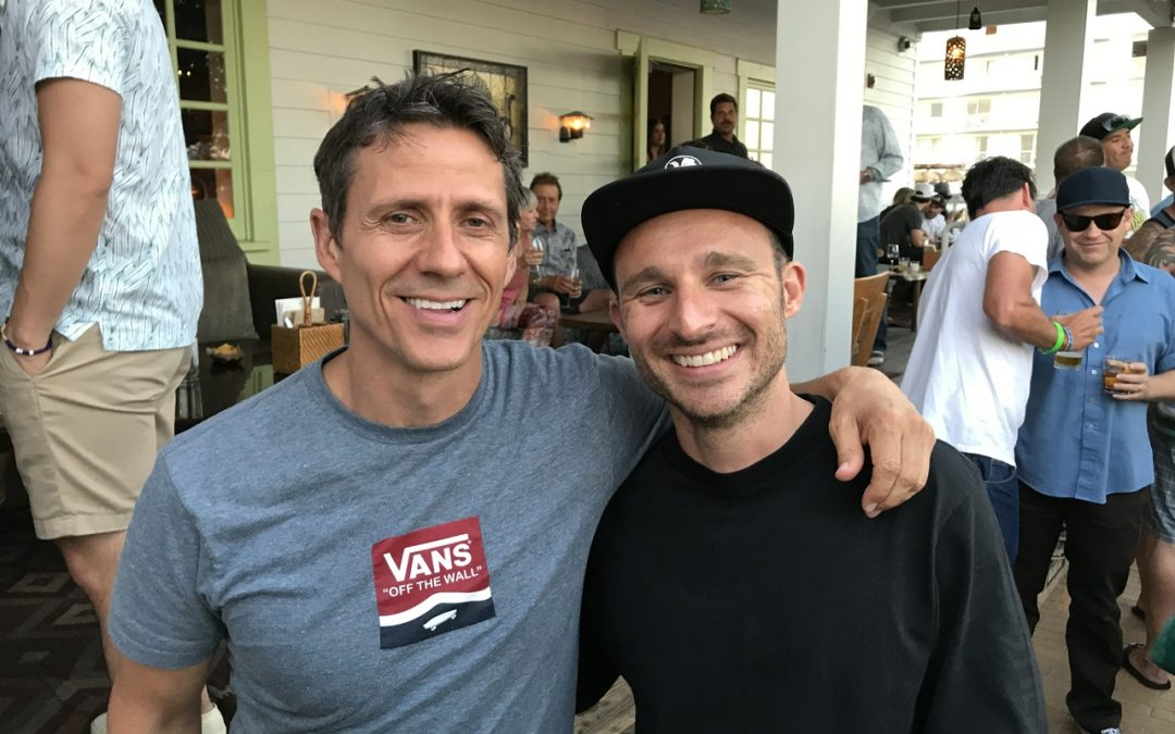 Vans GM of North America Mitch Whitaker and VP of Global Marketing Nick Street